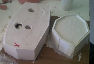 moldes ulnae bones replicas