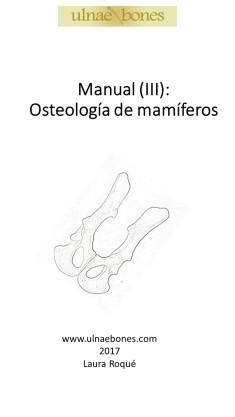manual osteologia mamiferos
