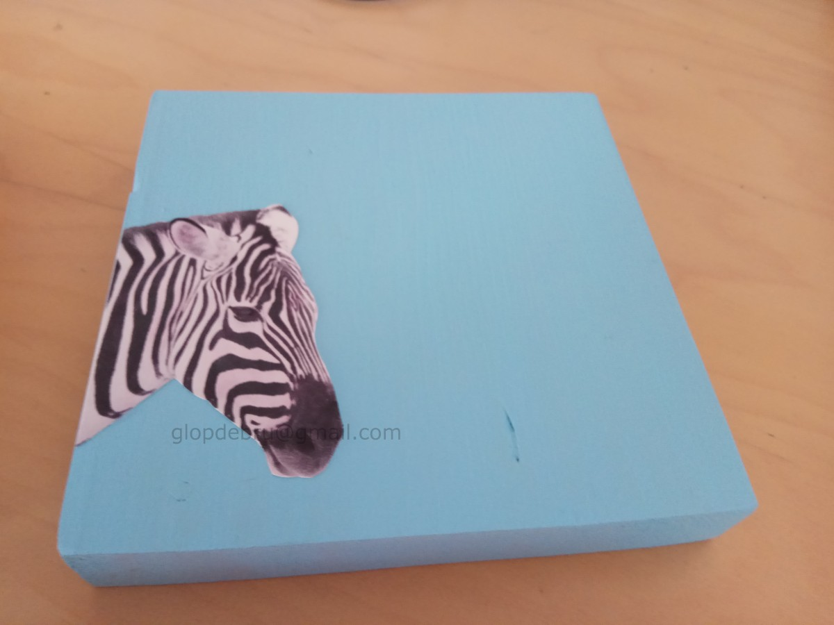 ulnae bones artesania animal blanco negro zebra